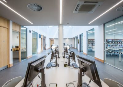 T&B (Contractors) Ltd - Marcus Garvey Library in Tottenham on Monday 24th June 2016.