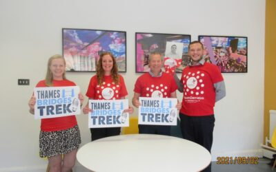 """Support a great cause today! Thames Bridges Trek """"Ultra Challenge"""""""